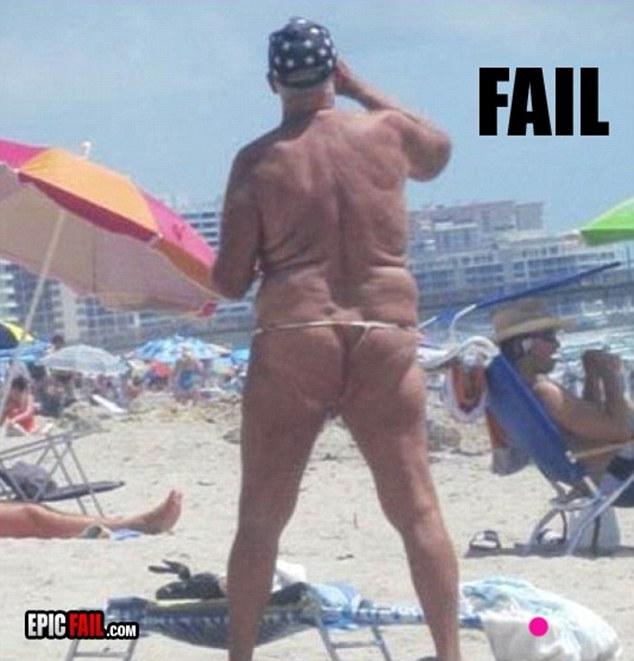 epic beach fail