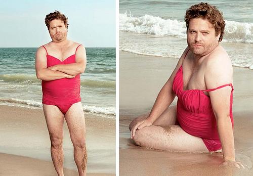 Zach Galifianakis bikini