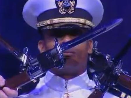 navy silent drill team